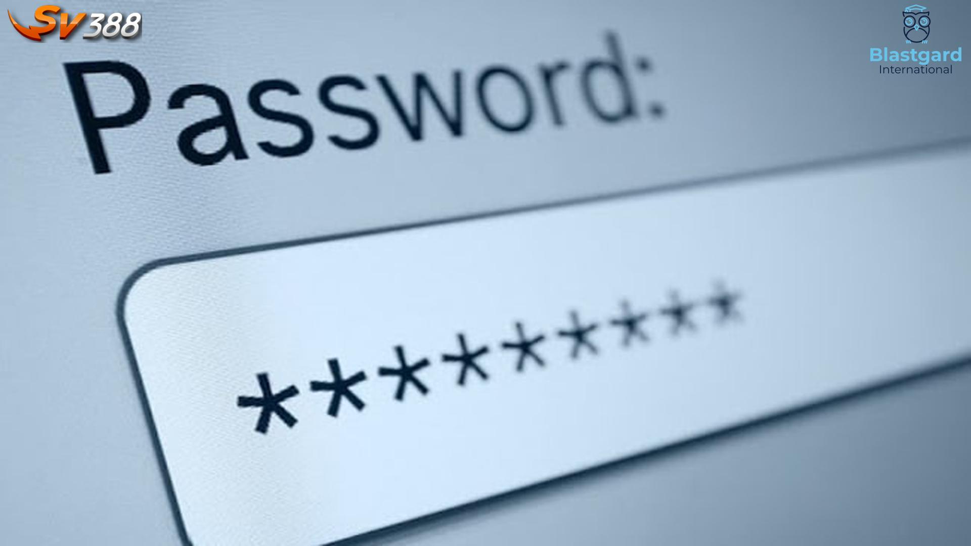 Đổi mật khẩu SV388