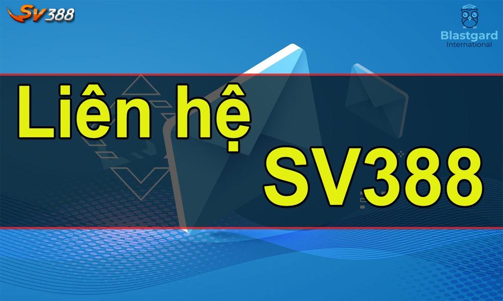 Các phương thức để liên hệ SV388